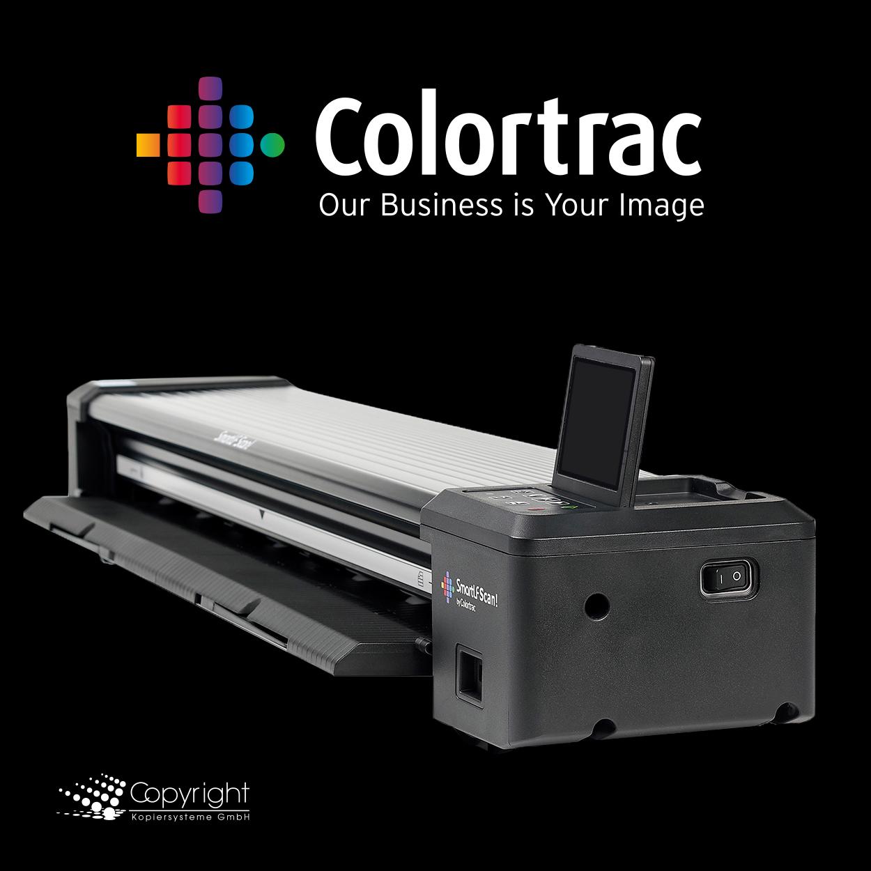 "Colortrac SmartLF Scan! 24"" Scanner to Go"